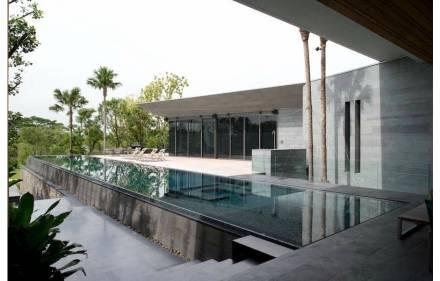 Krungthep Kreetha Residence in Bangkok.
