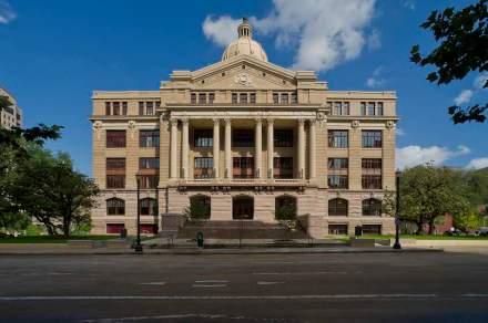 Harris County Courthouse in Houston, Texas.