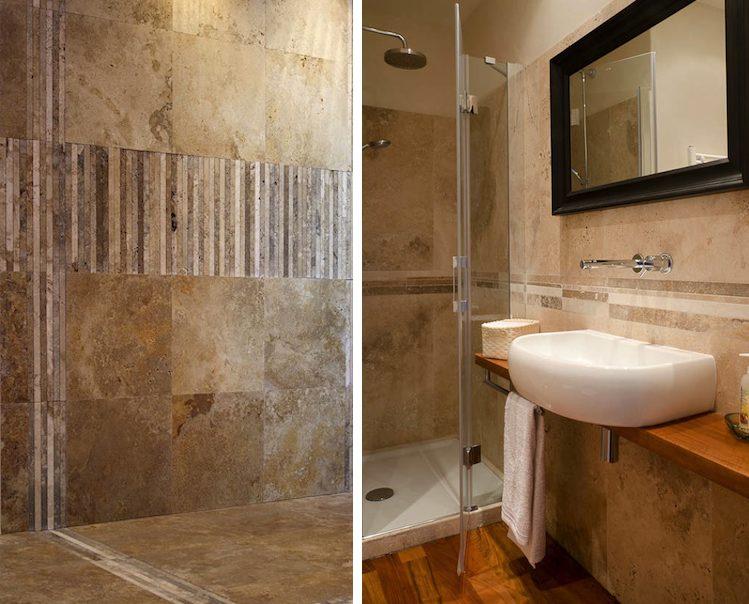 Strisce di pietre naturali per il bagno stone - Pietre per bagno ...