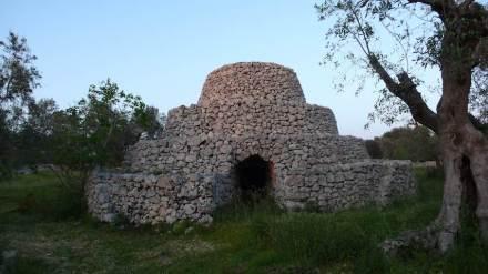 Dry-stone architecture: Pagliaro pugliese. Photo: Vincenzo Pavan
