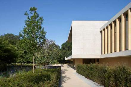 El Sainsbury Laboratory de la Universidad de Cambridge.