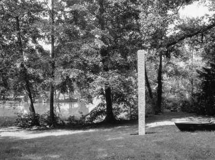 Gerhard Trieb: Paesaggi-cubo sulla superficie delle pietre naturali.