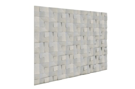 "Jacopo Martinello, Sara Vecchi: ""Intreccio"". An L-shaped wall cladding element."