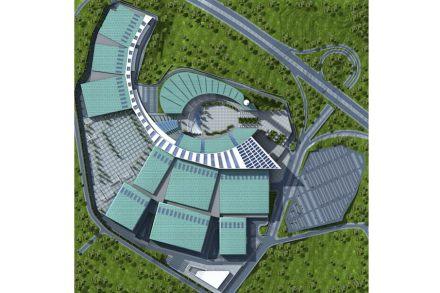 Izmir's new Trade Fair venue.