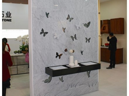 Huabao-Stone at the Xiamen fair 2015. Photo: Peter Becker