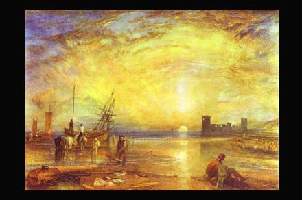 William Turner: Flint Castle (1838). Fuente: Wikimedia Commons