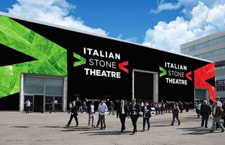 "The ""Italian Stone Theatre"" will showcase in Hall 1. Rendering: Veronafiere"