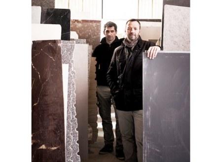 Claude Retegui (davanti), Olivier Ducout.