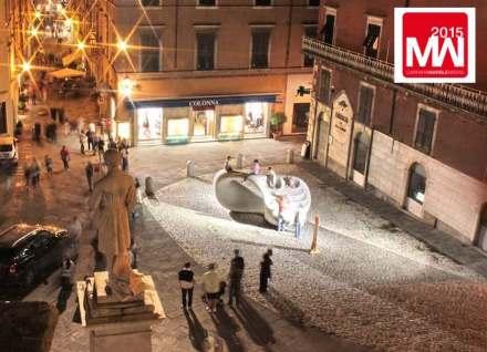 Carrara Marble Week 2014: Piazza Accademia. Foto: Stefano de Franceschi