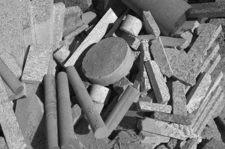 Die Frage ist: Wie kann man dem Abfall einen neuen Wert geben? Foto: Moro Il Cuore della Pietra