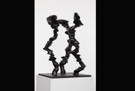 "Tony Cragg: ""Points of View"", 2014, bronze, 93 x 50 x 50 cm."
