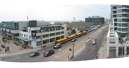 La Toronto Waterfront prima della riqualificazione. Foto: West8