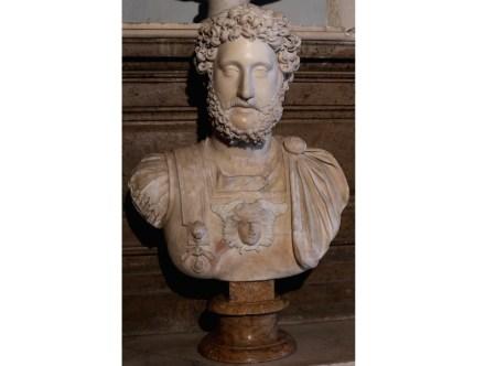 Portrait of Commodus (180-192 A.D.), Luna (= Carrara) Marble, Capitoline Museums, Rome.