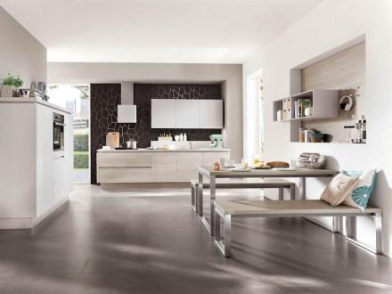 Viele Bundesbürger wünschen sich eine offene Wohn- beziehungsweise Lifestyle-Küche. Foto: AMK