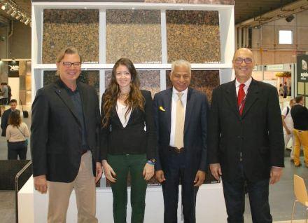 Il nuovo direttivo di Wonasa: (da sinistra verso destra) presidente Heikki Palin, i vicepresidenti Karen Abdalla, Sunil K. Arora e Paulo Florio Giafarov.