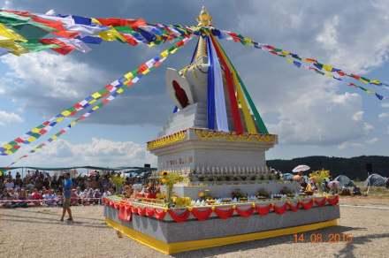 Um templo stupa budista na Bulgária foi agraciado com o prêmio principal.