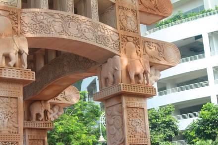 Odyssey: Torana-Gate in Kuala Lumpur.