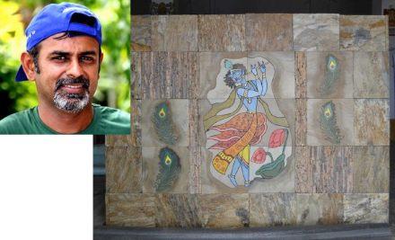 Nikhil Shah, Niksang Arts: Mural in stone.
