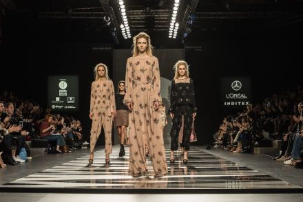 Dekton XGloss en la Mercedes Fashion Week de Madrid.