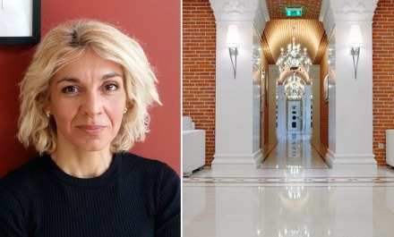 Magda Konstantinidou, Stone Group International, Greece: the Five-Star Hotel and Spa Pomegranate in Greece.
