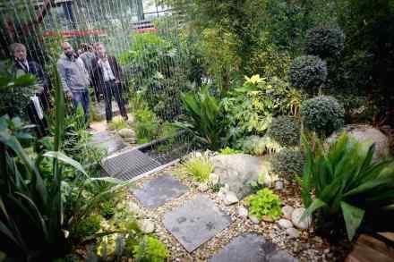 """Le Carré des Jardiniers""auf der Paysalia 2015 fördert innovative Gartengestaltungen. Foto: Paysalia"