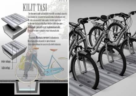 Professional designers, claddings for floor and wall, Honorable Mention: Nurullah Kürkçü.