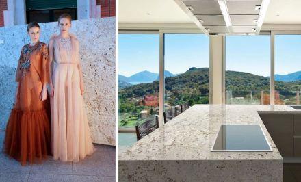 Levantina Fashion Night: Granit Olimpo, Naturamia Collection.