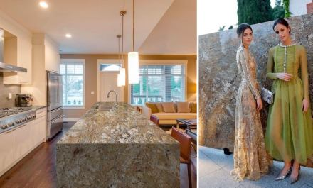 Levantina Fashion Night: granito Staccato, Naturamia Collection.