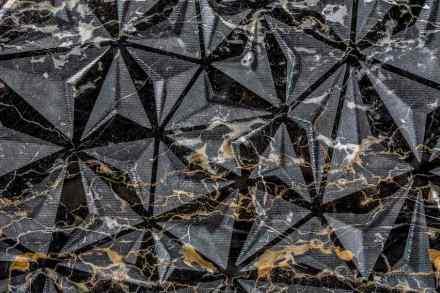 """Fabio Fazio, Lithea: """"Origami"""". Nero Portoro marble."""