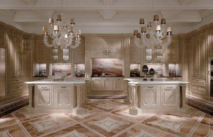 Budri: villa privata, cucina.