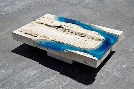 "La Table: ""Lagoon""."