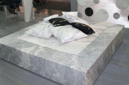 Sleeping in stone showed Geo Marmi-Carrara at Marmomacc 2016.