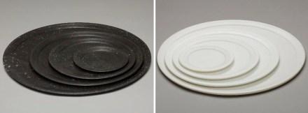 """""""Anouska Hempel and Lapicida"""": stone plate."""