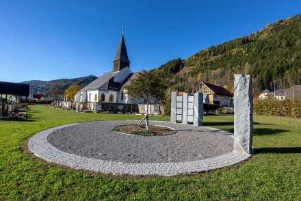 Bau:Kultur Rudolf Paschek, Murau: Urnenanlage St. Egidi.