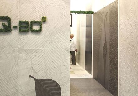 Q-BO-Project auf der Messe Cersaie in Bologna.