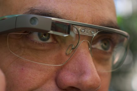 Google Glass. photo: Loïc Le Meur / Wikimedia Commons