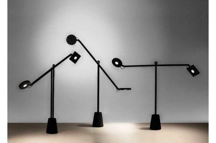 """""""Jean Nouvel, mes meubles d'architecte"""": Equilibrist, 2014, Artemide. Photos: Musée"""