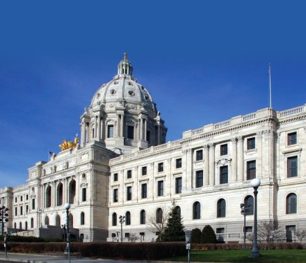 Grande Pinnacle Award for The Minnesota State Capitol exterior stone restoration.