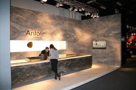 Antolini auf der IMM Cologne 2017. Foto: Peter Becker