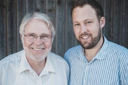Ludger Wennemer mit Sohn Robert.