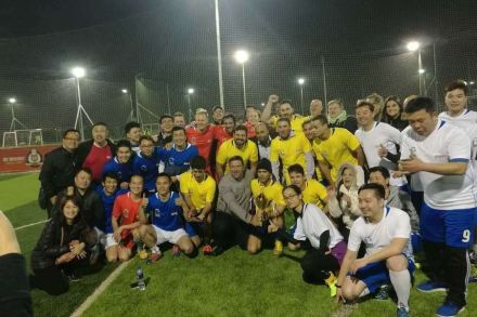 The participants of Lundhs Cup 2017.