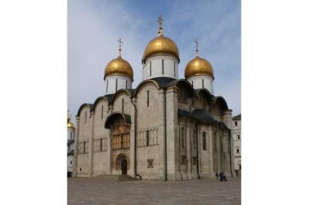 The Kremlin Cathedral of the Dormition. Photo: Daniel Kruczynski / Wikimedia Commons