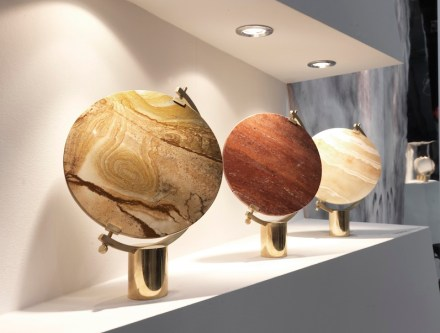 """Product design with natural stone: """"Naia"""" by JCP."""