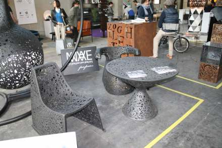 "Ventura Lambrate. <a href=""http://www.maffamfree.com/""target=""_blank"">Maffam</a>: furniture made of basalt fibres."