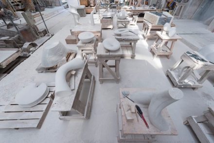 Studio in Servezza. Foto: Q. Bertoux
