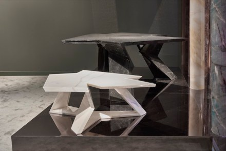 "Citco 2017: Daniel Libeskind, coffee table and dining table ""El Lupo""."