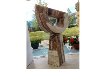 """Albeni"" (Charm), 90x45x28 cm, Onyx."