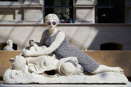 "Leo Caillard: ""Hipsters in Stone II""."