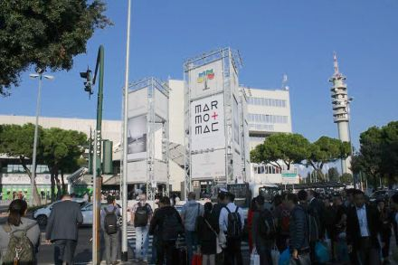 Main Entrance to Marmomac 2017.