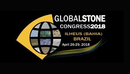Das Logo des Global Stone Congress 2018.